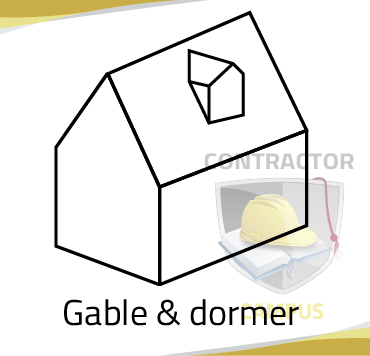 """Gable and Dormer"