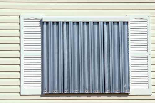Lee County hurricane shutter contractor finishes installing hurricane panels in southwest Florida
