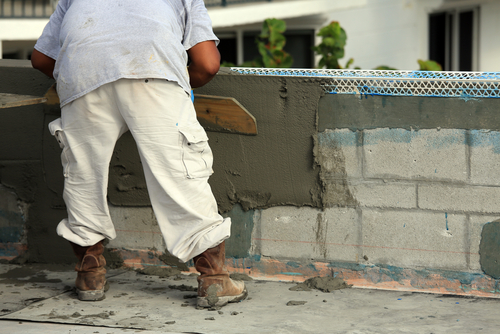 Lee County plastering the stucco contractor