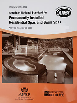 American National Standard for Permanently Installed Residential Spas, 2014 ANSI/APSP-3