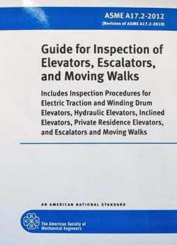 asme a17 guide for inspection of elevators, escalators & moving walks