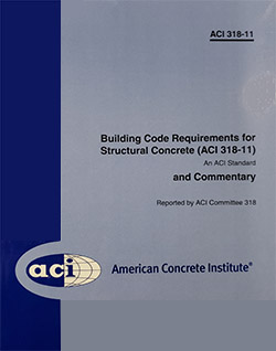 Building Code Requirements for Structural Concrete and Commentary