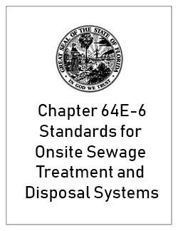 Chapter 64E-6 Onsite Sewage System