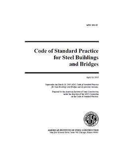 Code of Standard Practice for Steel Buildings and Bridges