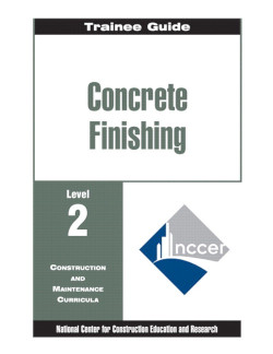 concrete finishing level two