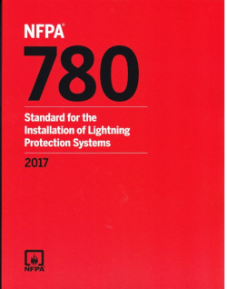 NFPA 780: Lightning Protection.