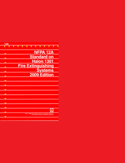 NFPA 12A: Halon 1301