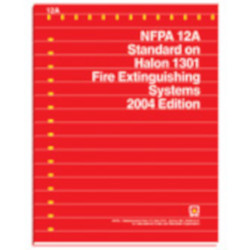 Standard on Halon 1301 Fire Extinguishing Systems