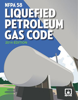 NFPA 58 Storage And Handling Of Liquefied Petroleum Gases