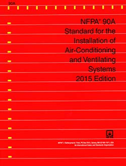NFPA 90A: Installation of Air Conditioning and Ventilating Systems
