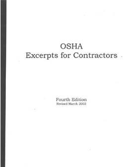 OSHA Excerpts