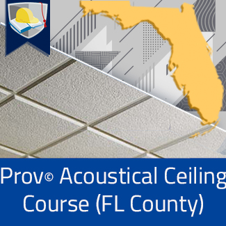 Prov© Acoustical Ceiling Classes in Florida