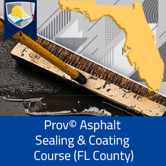 Prov© Asphalt Sealing and Coating Course (Florida County)