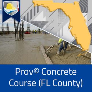 Prov© Concrete Course (Florida County)