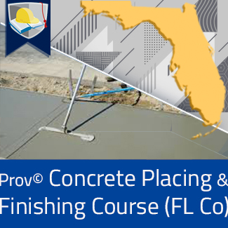 Prov© Concrete Placing and Finishing Course (Florida County)