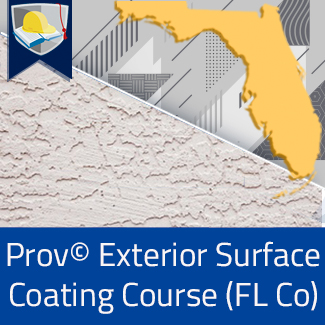 Prov© Exterior Surface Coating Course (Florida County)