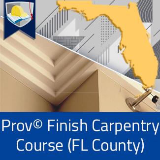 Prov© Finish Carpentry Course (Florida County)