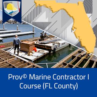 Prov© Marine Contractor I Course (Florida County)