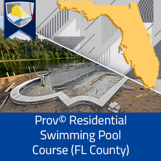 Prov© Residential Swimming Pool Course (Florida County)