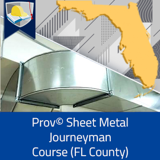 Prov© Sheet Metal Journeyman Course (Florida County)