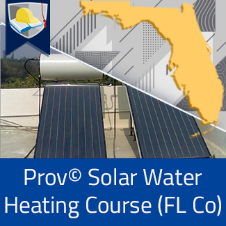 Prov© Solar Water Heating Course (Florida County)