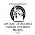 Division of Building Safety Contractor's Business and Law Reference Manual