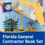 General Contractor's exam in Florida Book Set