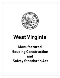 west virginia manufactured housing construction act